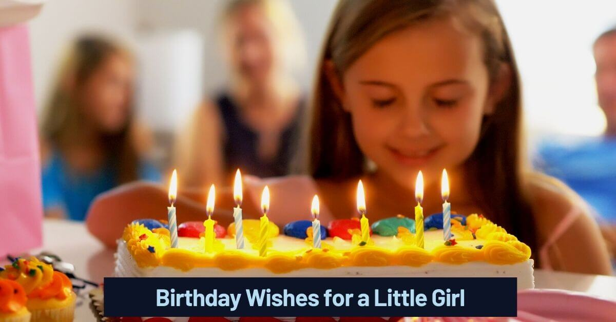 Birthday Wishes for a Little Girl