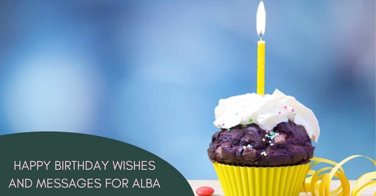 Happy Birthday Alba